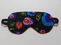 Nezaradené - Masky na spanie s rustikálnym motývom - 8452624_