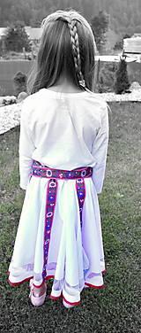 Sukne - Krojová suknička sa točí dokoliečka - 8454194_
