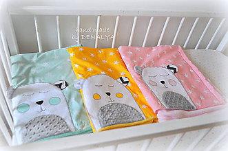 Textil - Letná deka Teddy, viac farieb 70x90cm - 8454265_