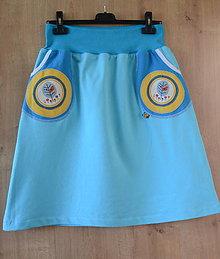 Sukne - nie len tehotenská sukňa - 8454958_