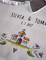 Iné doplnky - svadobný dvojitý podbradník - 8457165_