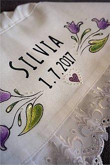 Iné doplnky - maľovaný svadobný čepiec na želanie - 8457112_