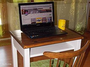 Nábytok - Pracovný stolík pod notebook  - 8456660_
