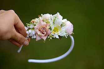 Ozdoby do vlasov - V opojení kvetinových vôní - 8454522_