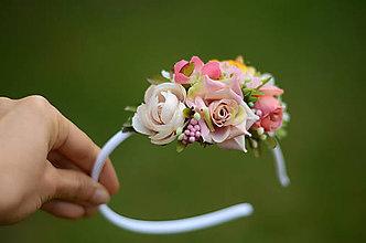 Ozdoby do vlasov - Sen o ruži... - 8454605_