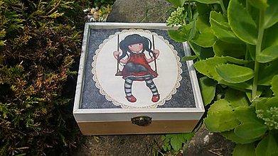 Krabičky - drevená krabička - šperkovnica - 8456365_