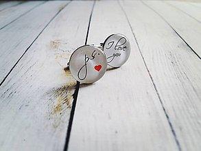Šperky - Manžetové gombíky - 8454068_