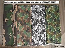 Textil - Bugaboo Seat Liner Camouflage ARMY by Diesel/ Podložka do kočíka MASKÁČ na mieru - 8457311_