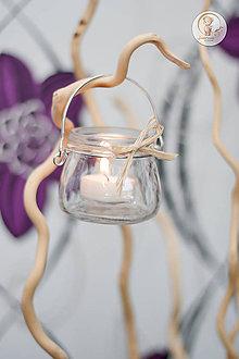 Svietidlá a sviečky - Závesný svietnik - 8455013_