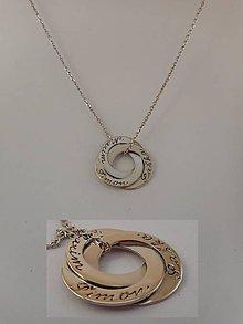 Iné šperky - Prívesok s retiazkou