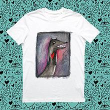 Tričká - O vlkoch a srdciach horúcich/ pánske - 8455469_