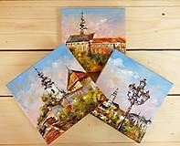 Obrazy - Traja kamaráti VI. (Nitra) - 8456743_