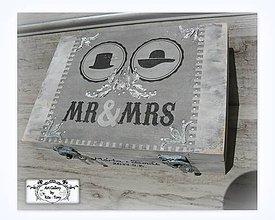 Krabičky - Krabica na svadbu s 3D motívom :) - 8455487_