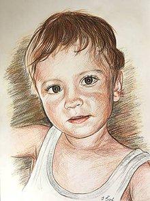Kresby - chlapček v tielku :-) - 8453881_
