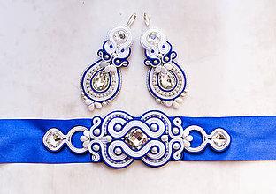Sady šperkov - Svadobná folková sada - 8456825_