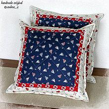 """Úžitkový textil - vankúš """"marine"""" - 8454310_"""