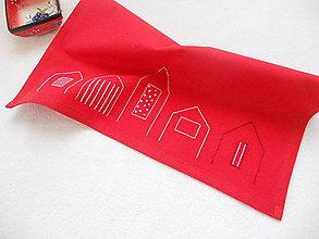 Úžitkový textil - Mestečko ako na dlani (prestieranie) - 8457868_