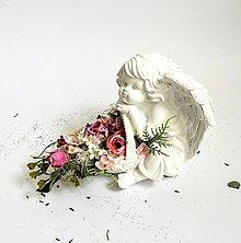 Dekorácie - Dekorácia anjelik - 8459630_
