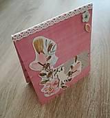 Papiernictvo - tanečníci_ pohľadnica - 8459060_
