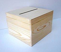 Polotovary - M60-  Veľká krabica na obálky 30x30 cm - 8457767_