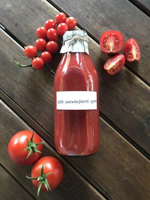 100% paradajkové pyré