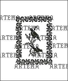 Návody a literatúra - B017 Vtáčiky - predloha na vyšívanie - 8457497_