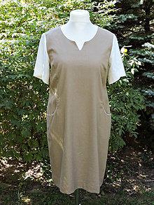 Šaty - Šaty pre pohodu - hnedé - 8457898_
