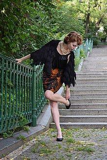 Sukne - Škoricová sukňa - 8457890_