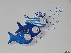 Kľúčenky - Prívesky na kľúče - rybky - 8457864_