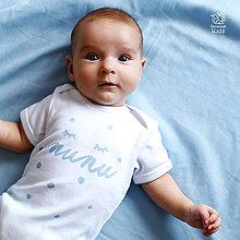 Detské oblečenie - ŇUŇU bodičko - 8459532_