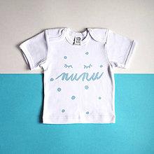 Detské oblečenie - ŇUŇU tričko - 8459579_