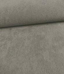Iný materiál - Toccare esperta (3  brúsená koža - šedá) - 8460519_