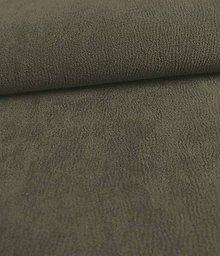 Iný materiál - Toccare esperta (4  brúsená koža - šedá) - 8460528_