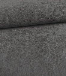 Iný materiál - Toccare esperta (5  brúsená koža - šedá) - 8460536_