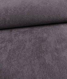 Iný materiál - Toccare esperta (11  brúsená koža - fialová) - 8460604_