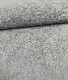 Iný materiál - Toccare esperta (14  brúsená koža - šedá) - 8460639_