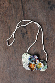 Náhrdelníky - náhrdelník lotosový - 8462683_