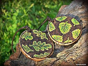 Náhrdelníky - The green leaves of summer - 8463168_