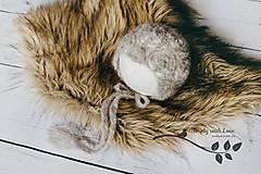 Detské čiapky - čiapka pre novorodenca - 8463646_