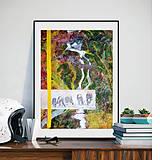 Obrazy - Kravy na paši - 8463926_