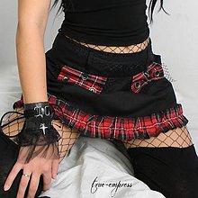 Sukne - Rocková sukňa - 8462514_