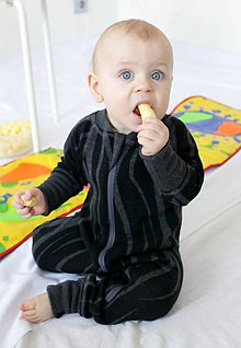 Detské oblečenie - Rastúci overal - merino vlna (veľ. 0-6m (50-68cm) – 32 farieb) - 8463679_