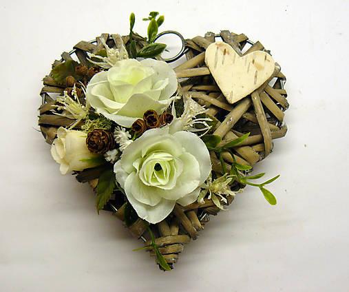 82a255c03b04 Biele ružičky na urnový hrob   emily08 - SAShE.sk - Handmade Dekorácie