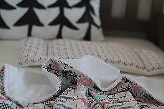 Textil - Sada do postieľky alebo kočíka - 8461272_