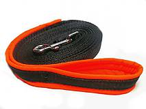 Pre zvieratká - Stopovacie vodítko oranžové so softshellom - 8462418_