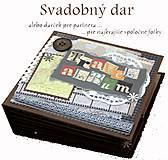 Papiernictvo - Veľký luxusný svadobný fotoalbum na želanie (vyše A4) - 8461262_