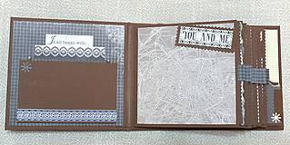 Papiernictvo - Veľký luxusný svadobný fotoalbum na želanie (vyše A4) - 8461266_