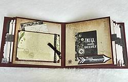 Papiernictvo - Veľký luxusný svadobný fotoalbum na želanie (vyše A4) - 8461267_