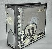 Papiernictvo - Veľký luxusný svadobný fotoalbum na želanie (vyše A4) - 8461271_