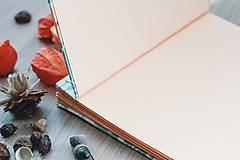 Papiernictvo - Fotoalbum, klasický, polyetylénový potlačený obal s potlačou oranžových kvetín - 8463331_